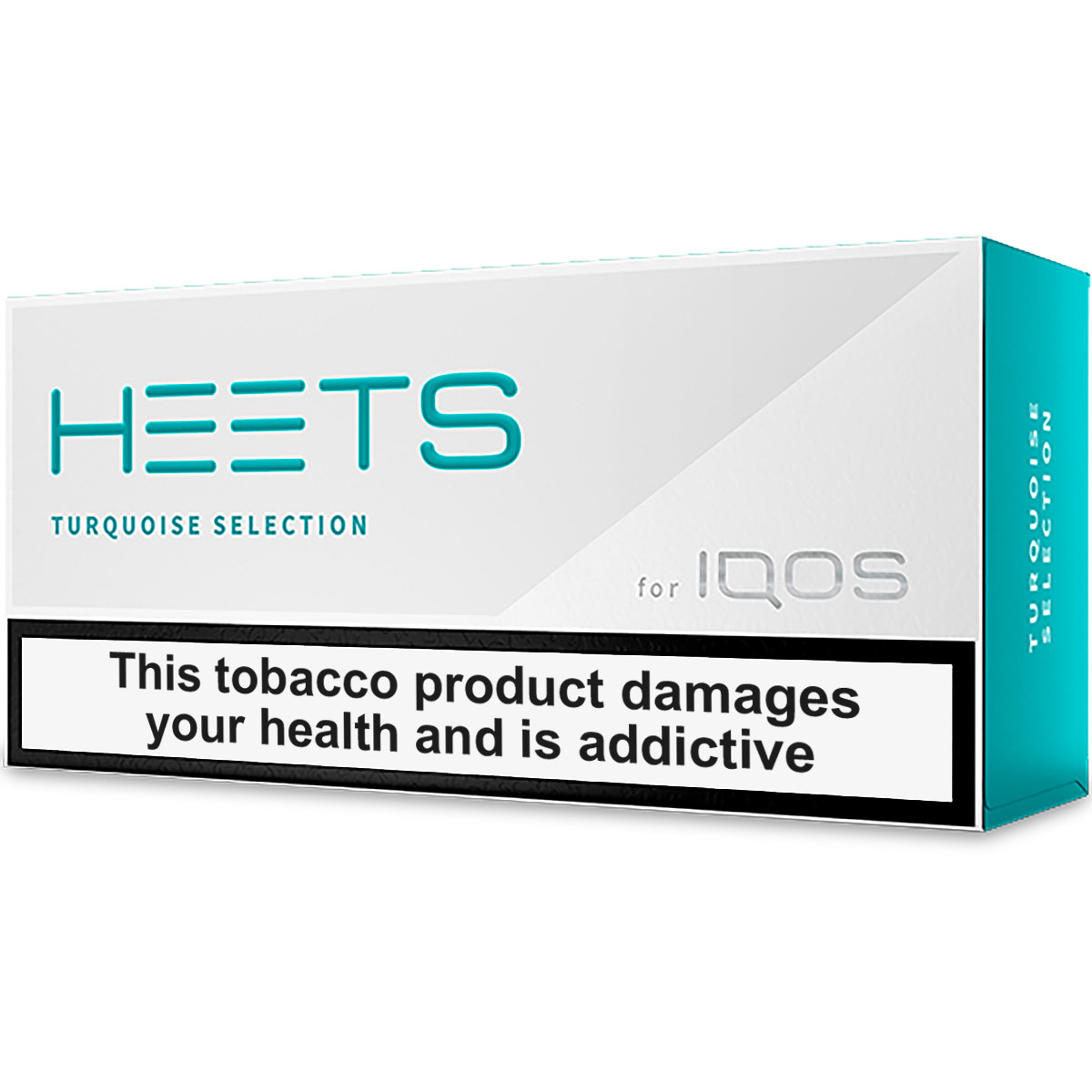 IQOS HEETS Turquoise Selection / Label (Central Asia)