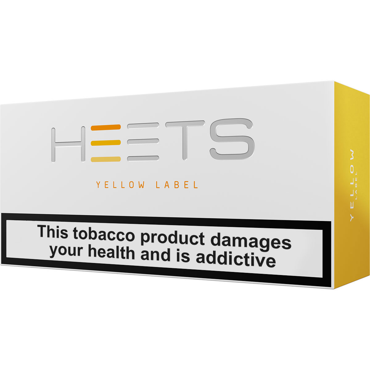 IQOS HEETS Yellow Selection / Label (Central Asia)