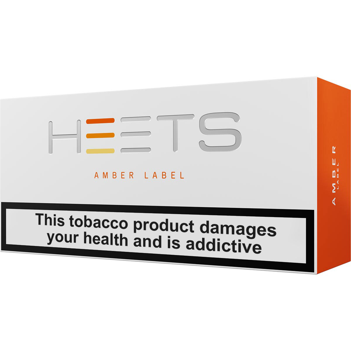 IQOS HEETS Amber Label (Europe)