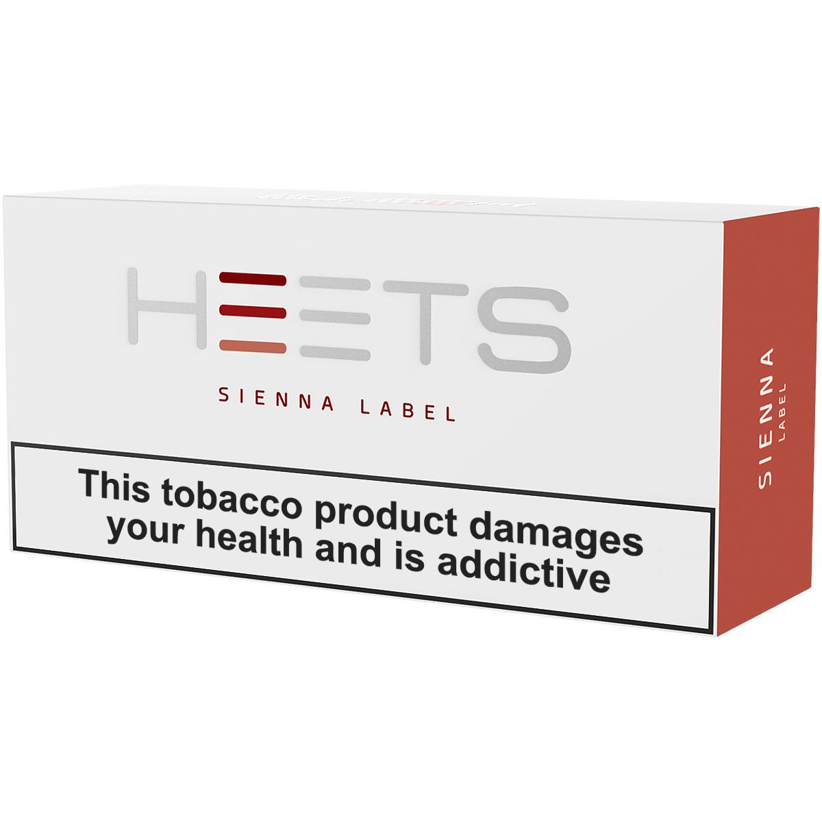 IQOS HEETS Sienna Label
